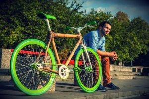 Polskie rowery z bambusa