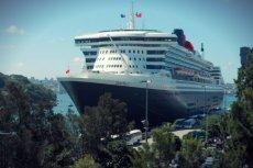 Statek pasażerski Queen Mary II w pełnej krasie