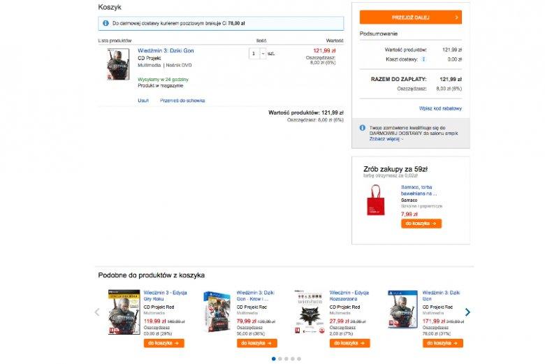 Automatyczna informacja o uzupełniających produktach podczas oglądania rzeczy i dokonywania zakupów w sklepie internetowym to typowy przykład cross-sellingu.