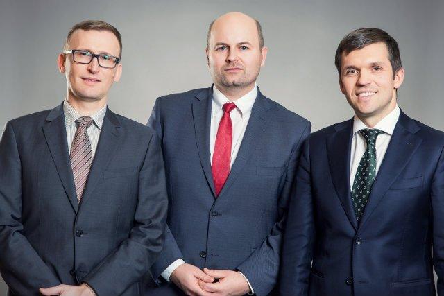 Prezes Zarządu, Mateusz Borowiecki; Partner, Bartłomiej Bącik; Partner, dr Tomasz Gonsior