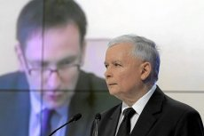 Daniel Obajtek (jeszcze jako wójt Pcimia) i prezes PiS Jaroslaw Kaczynski