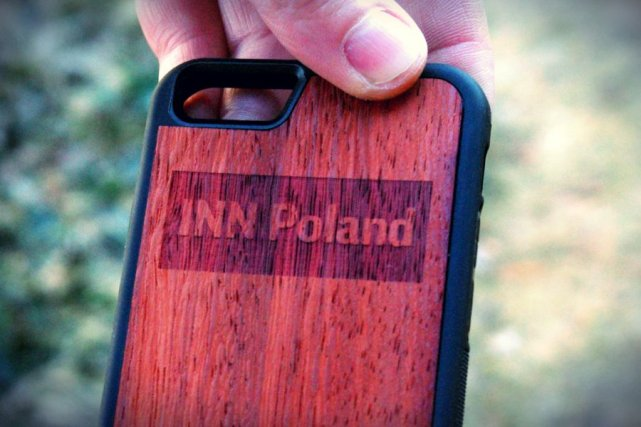 Tak wygląda ostateczne dzieło, które bewood.pl zrobił specjalnie dla INN Poland