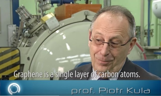 Prof. Piotr Kula, Prorektor ds. Innowacji Politechniki Łódzkiej, współzałożyciel Advanced Graphene Products