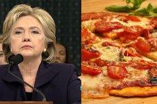 Co łączy pizzę i Hillary Clinton? Według internautów, szajka pedofilów i satanistyczny kult.