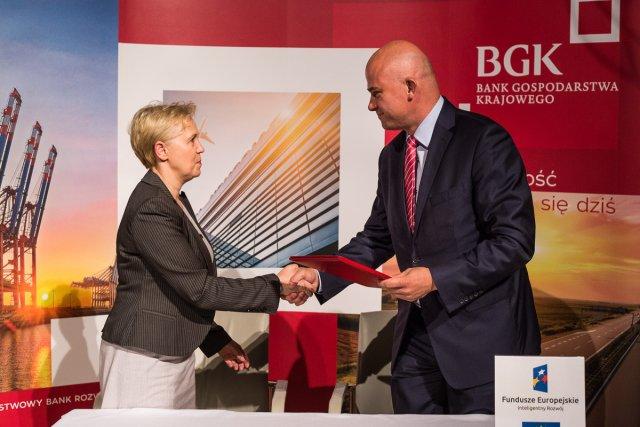 Andrzej Gliński - Bank Millennium, umowa z BGK