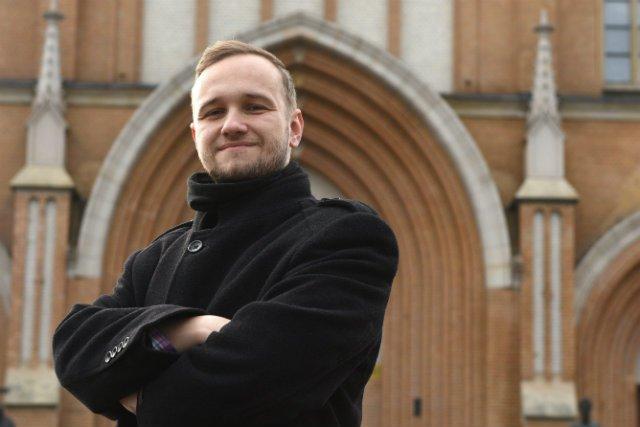 Mieszko Makowski, założyciel mikropaństwa Kabuto.