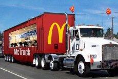 Food truck McDonald's w Szwecji