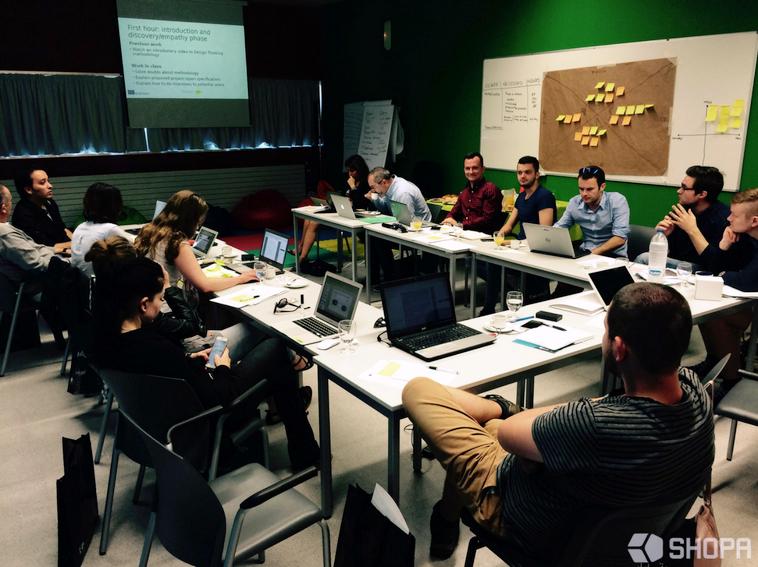 Praca podczas spotkania partnerów projektu DiamonDT
