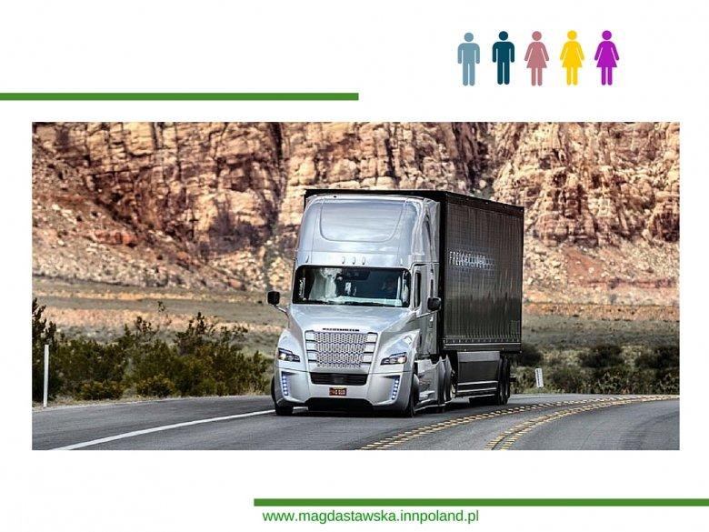 Daimler, Freightliner Inspiration – bezzałogowa cięzarówka
