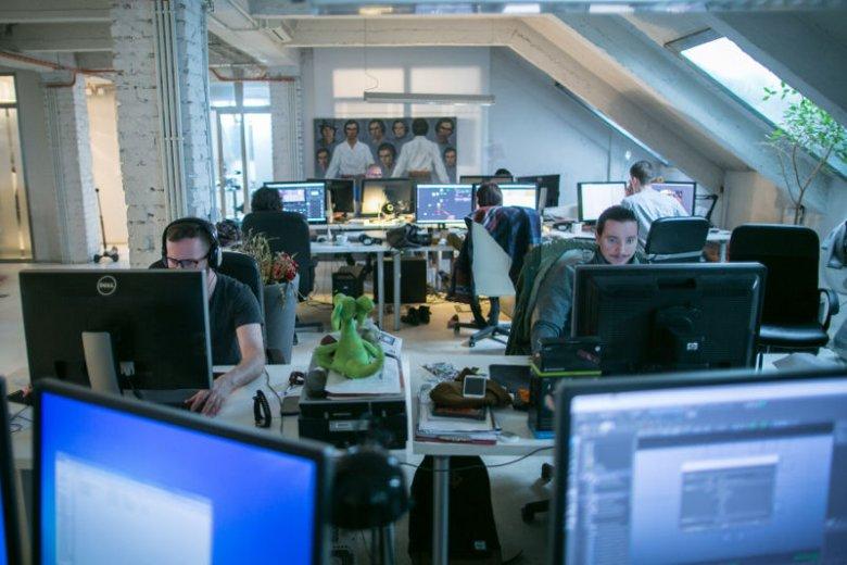 Artyści i animatorzy w Human Ark są podzieleni na specjalizacje.
