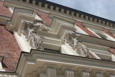 Gmach główny ASP w Krakowie.