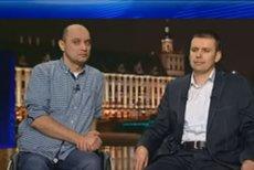 Od lewej Dariusz Fidyka, który miał przerwany rdzeń kręgowy i stanął na własne nogi, a obok niego dr Paweł Tabakow, sprawca tego medycznego cudu.