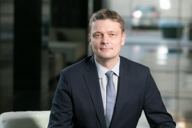 Marcin Stefaniuk, Dyrektor Departamentu faktoringu i finansowania handlu w Banku Millennium.