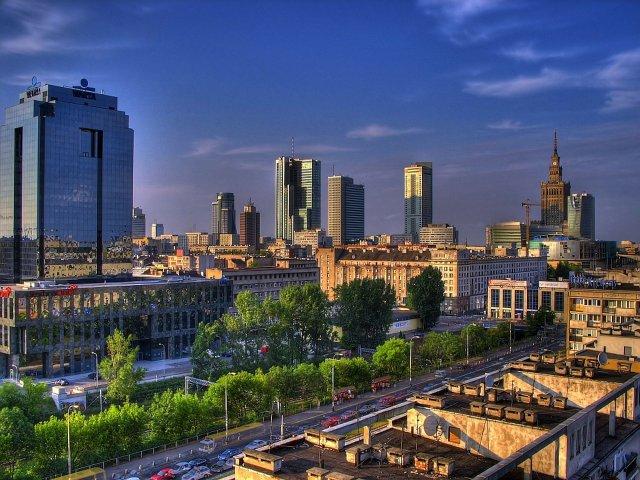 Warszawa w blasku akceleracji ;)