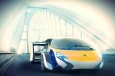 Ten samochód można błyskawicznie zamienić w samolot.