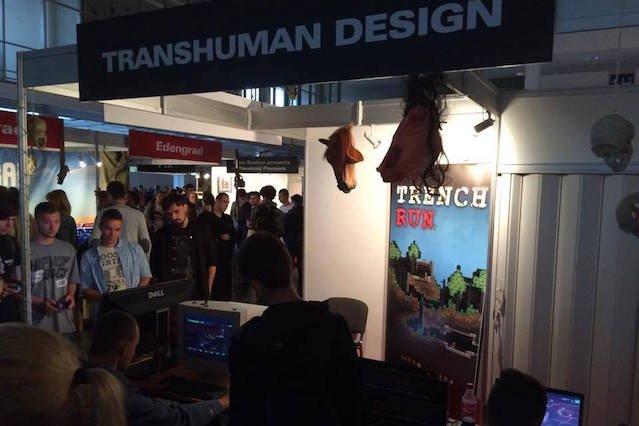 Stoisko Transhuman Design.