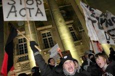 Protesty w sprawie ACTA były organizowane w olbrzymiej mierze przez użytkowników portalu Wykop.pl.