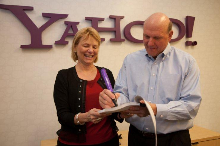 Steve Ballmer w walce o kawałek Facebooka przechytrzył także Yahoo.