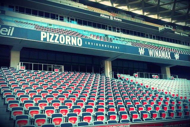 Allianz Riviera w Nicei jest kolejnym stadionem, w którym polska firma postawiła swoje krzesła