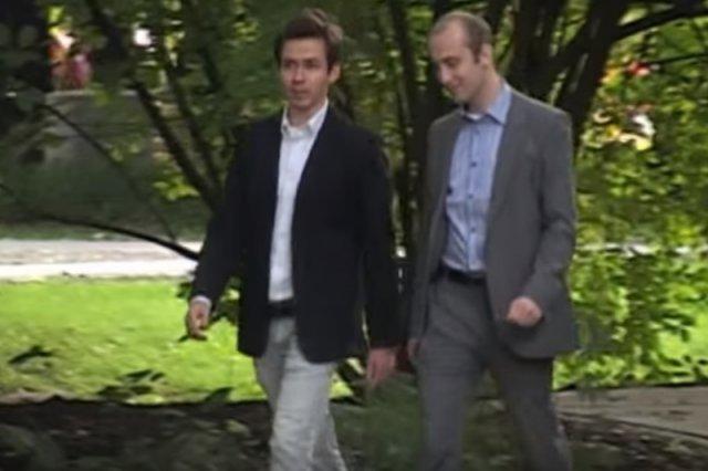Od lewej Michał Żak oraz Michał Kelles-Krauz, twórcy Angloville.