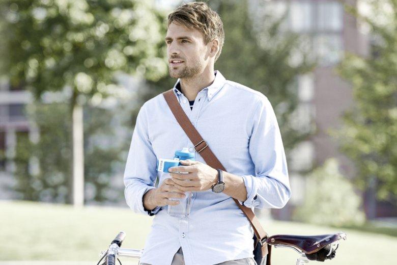 Butelka filtrująca BRITA fill&go Vital to ekologiczna i oszczędna alternatywa dla wody butelkowanej, która pomaga ograniczyć ilość plastikowych odpadów, odciążyć portfel, a także gasić pragnienie w każdej sytuacji