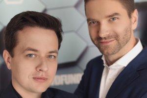 Grzegorz Mączyński i Robert Murzynowski, założyciele Science Ship.