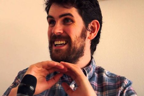 Sean Murray z Hello Games, które stworzyło Na Man's Sky.