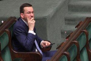 Minister Morawiecki twierdził, że jest zakochany w obecnym budżecie.