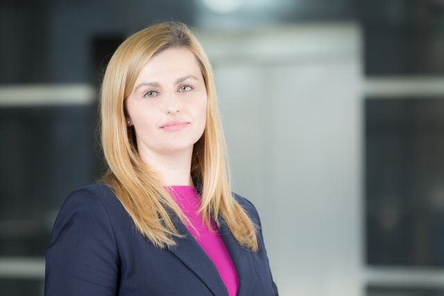Ewelina Zielonka, Kierująca Wydziałem Sprzedaży w Departamencie Faktoringu i Finansowania Handlu w Banku Millennium