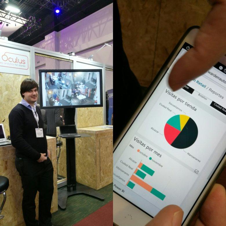 Marco Villegas Garcia prezentuje system do analiz wraz z aplikacją mobilną do jego obsługi, dostępną na razie tylko w języku hiszpańskim