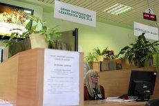 Biuro Obsługi Klienta ZUS w Olsztynie.