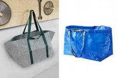 Po prawej nowa wersja znanej torby.