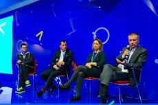 Debata o zawodach przyszłości podczas Code Europe.