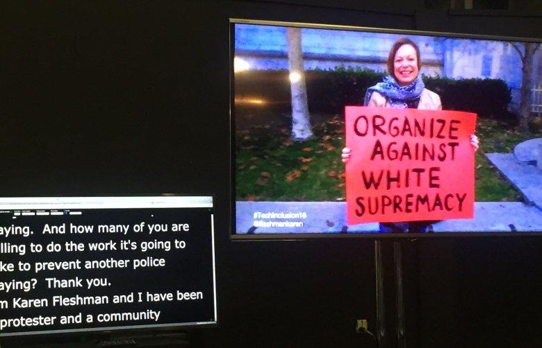 Poruszający był panel o agresji policji wobec społeczności Afroamerykanów w USA