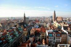 Rynek we Wrocławiu - stolicy Dolnego Śląska.