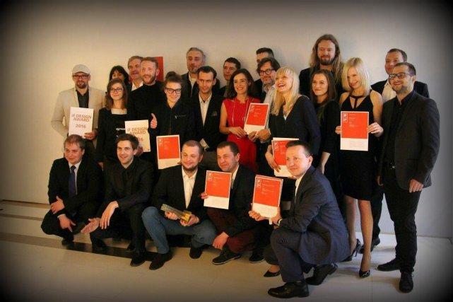 Zespół VANK podczas  IF Design Award 2016