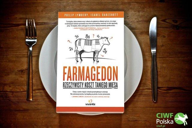 """""""Farmagedon"""" ksiażka wydana w Polsce przez Wydawnictwo Vivante."""