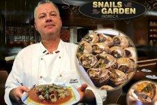Snails Garden zajmuje się równie produktami spożywczymi z przetworzonego mięsa ślimaków.