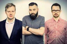 Założyciele FinAi, od lewej: Łukasz Dziekan, Paweł Ostrowski i Rafał Czernik