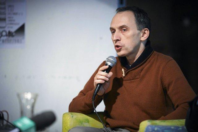 """Michał Matys, autor książki """"Grube Ryby. Jak zarobili swój pierwszy miliard"""""""