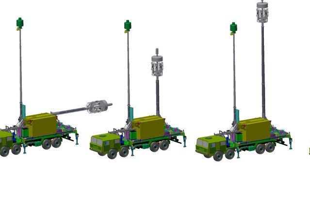 Wizualizacja tego jak wyglądają radary wykrywające maszyny stealth