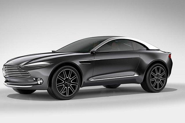 Aston Martin DBX, czyli samochód dla Charlotte.